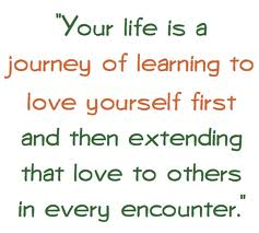 Quotation about loving ourselves